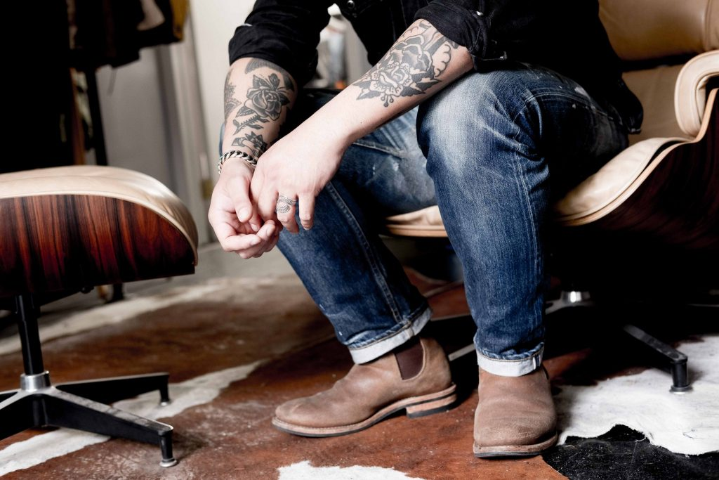 3sixteen Andrew Chen's Bailey Hunter Robinson Tattoo