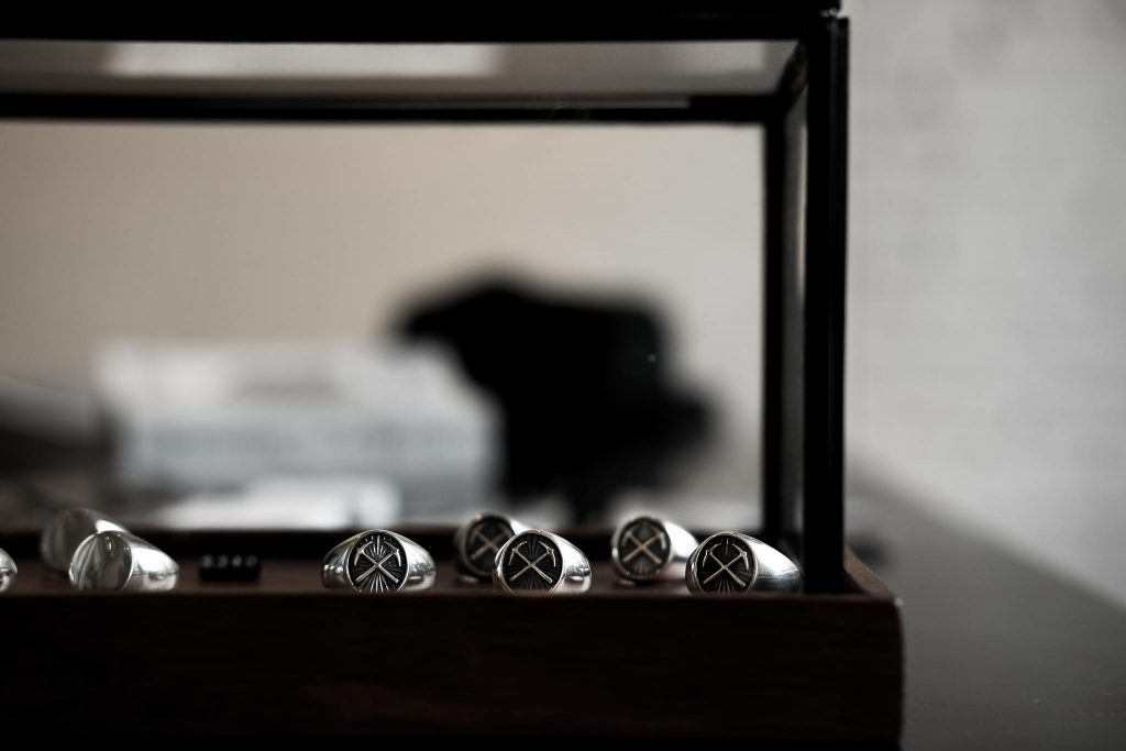 3sixteen Good Art HLYWD Signet Ring