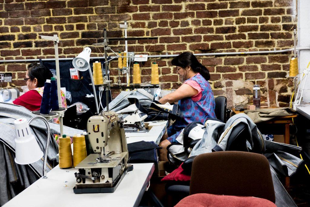 Shockoe Atelier sewing area.