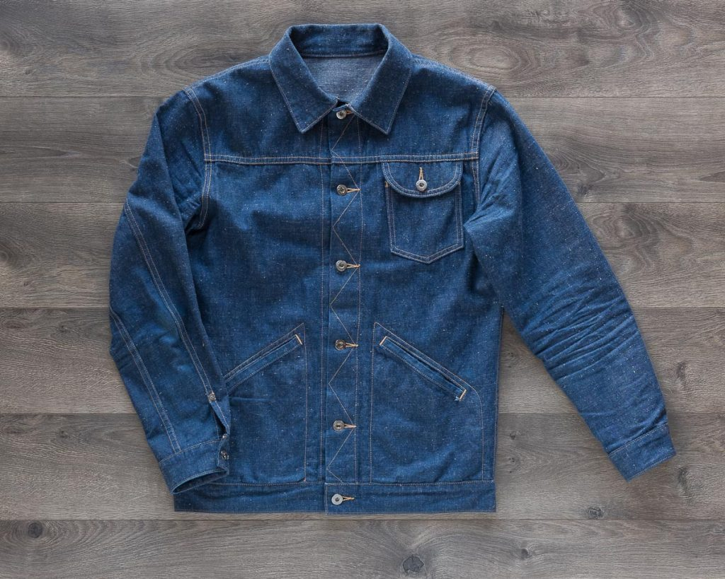 3sixteen Indigo Nep Ranch Jacket Front