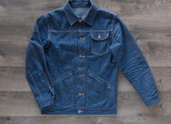 3sixteen Indigo Nep Ranch Jacket