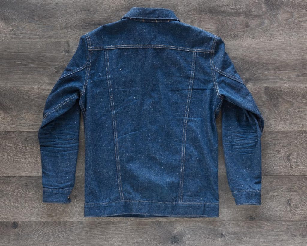 3sixteen Indigo Nep Ranch Jacket Back