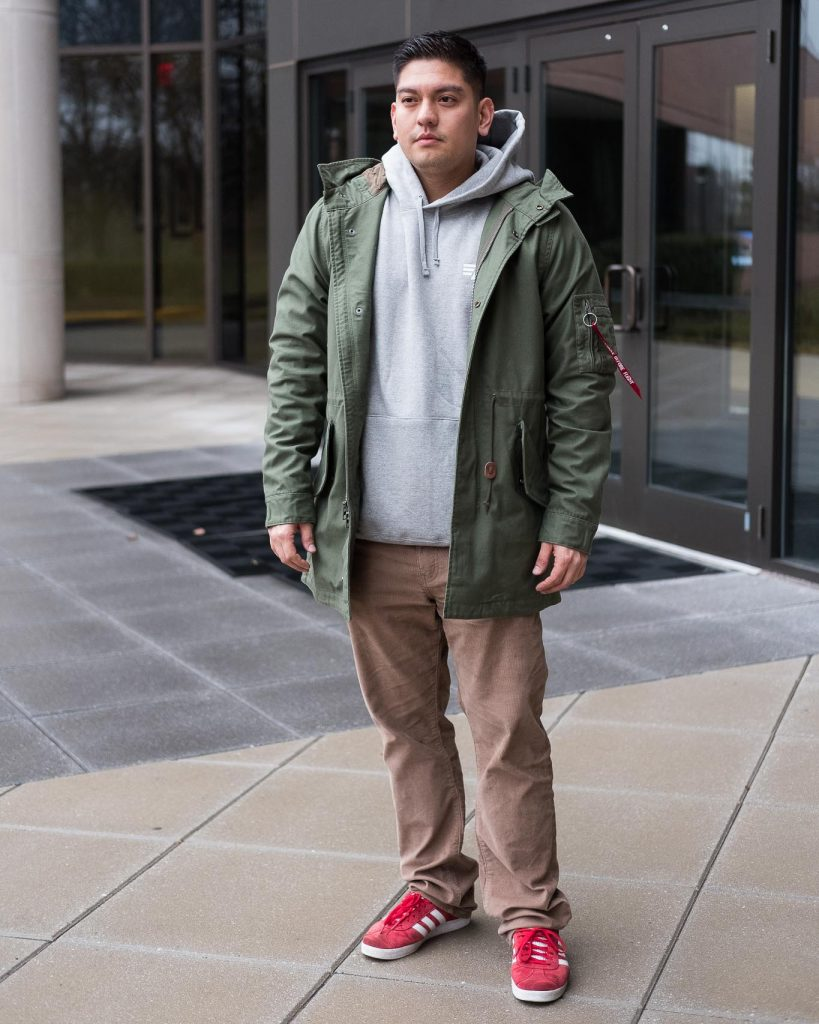 Alpha Industries M-59 Fishtail Parka