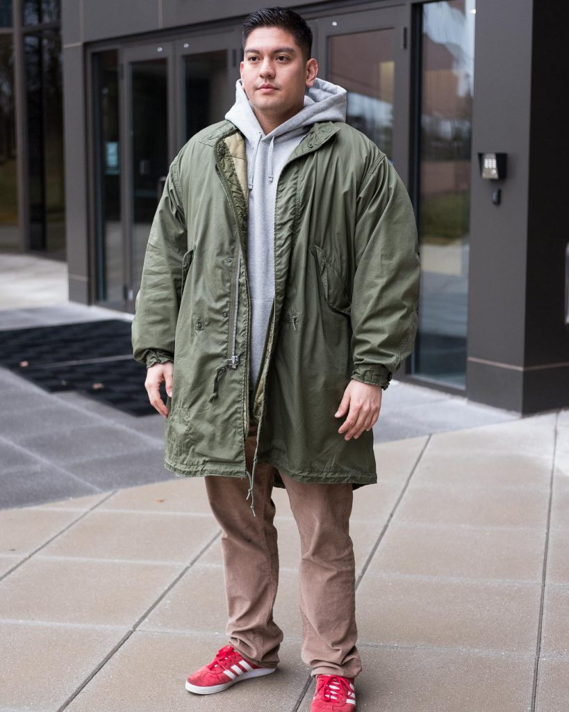 Alpha Industries Original Fishtail Parka