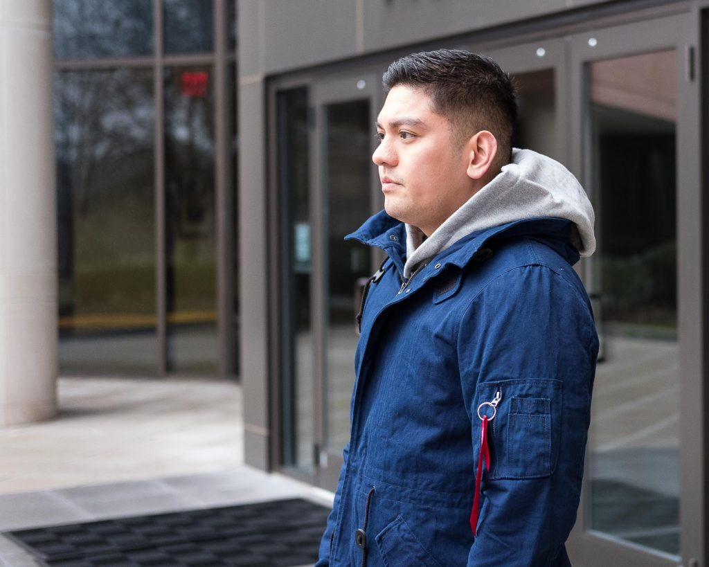 Alpha Industries Steve S. in the M-59 Fishtail Parka