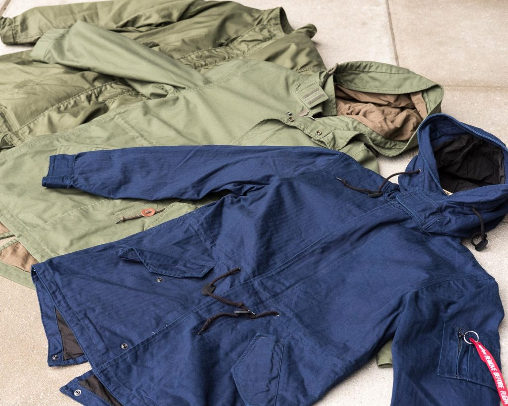 Alpha Industries x 3sixteen Collaboration Jacket M-59 Fishtail Parka