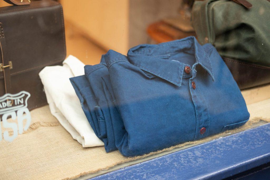 Corridor NYC Duck Dyed Indigo Overshirt