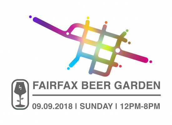 fairfax beer garden september 9, 2018 with withered fig pop-up