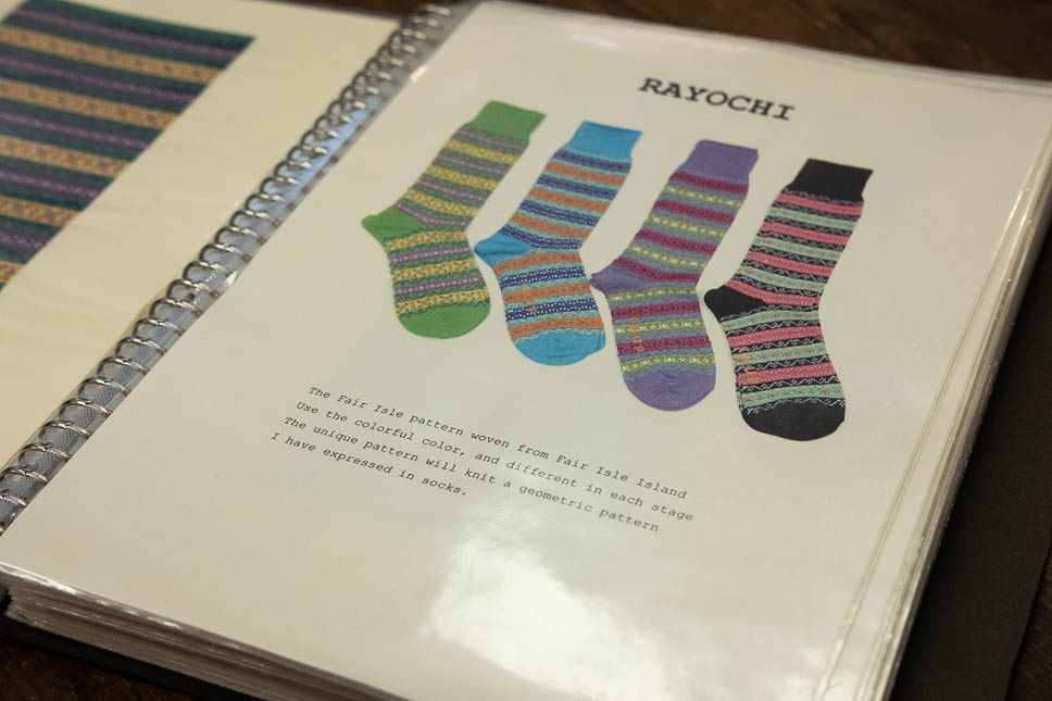 CHUP Socks Rayochi Pattern