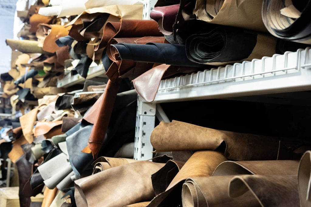 Viberg Brand Spotlight Interview - Leather Rolls On Shelf