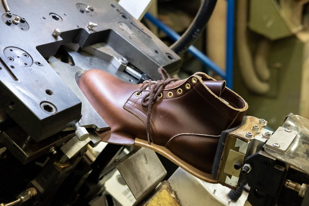 Viberg Brand Spotlight Interview - Stretching Leather Out During Lasting