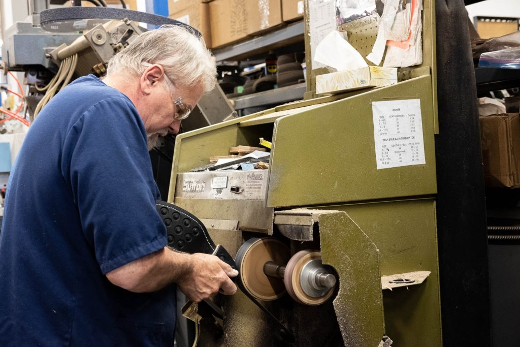 Viberg Boot Brand Spotlight Interview - Glen Viberg Finishing