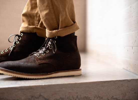 Viberg for Withered Fig Tobacco Chamois RO Marvington II Service Boot