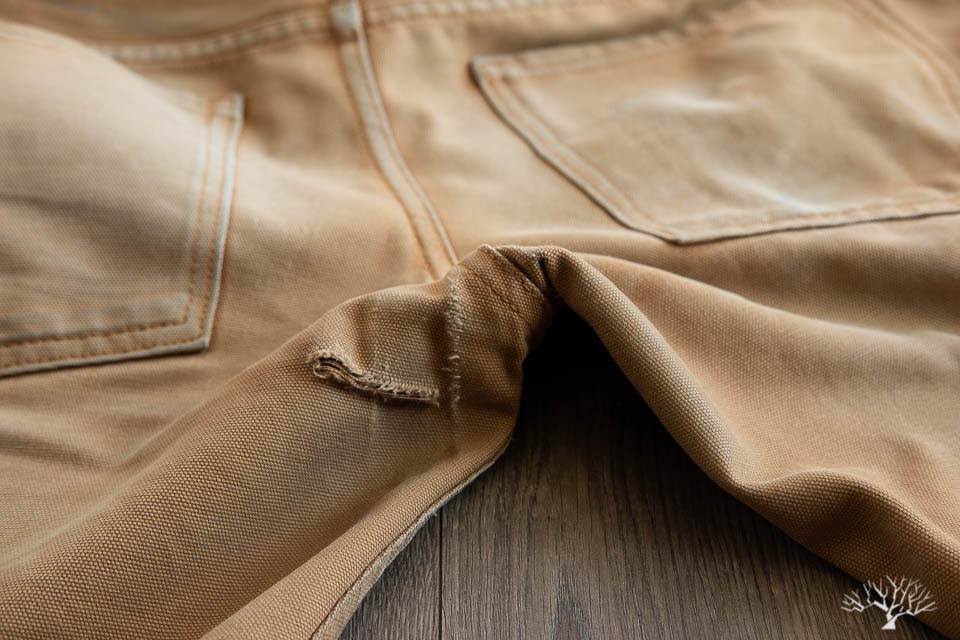 Railcar Fine Goods Camel Flight Trousers Shrink Test and Review