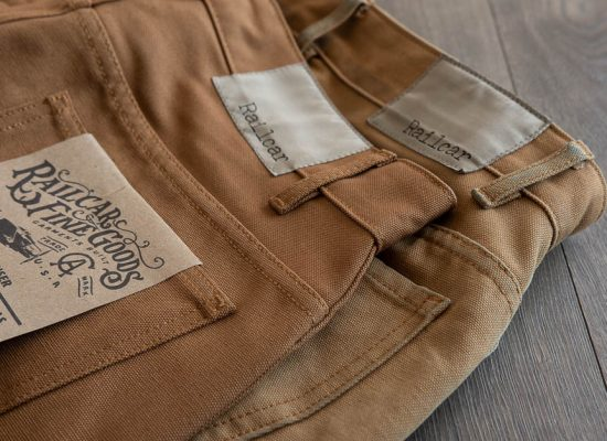 Railcar Fine Goods Camel Flight Trousers 30 month review