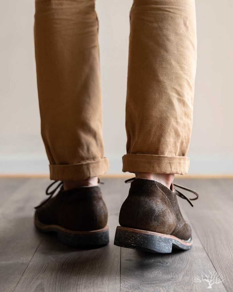 viberg for withered fig mushroom chamois roughout 145 oxford review model photos