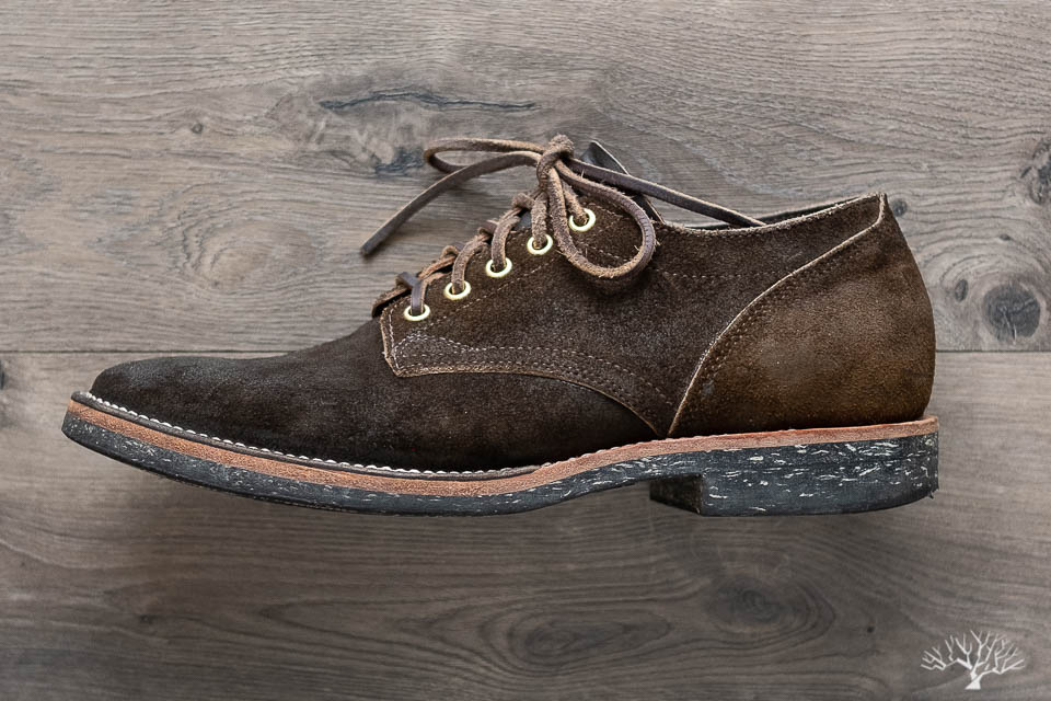 viberg for withered fig 145 oxford mushroom chamois reverse profile shots