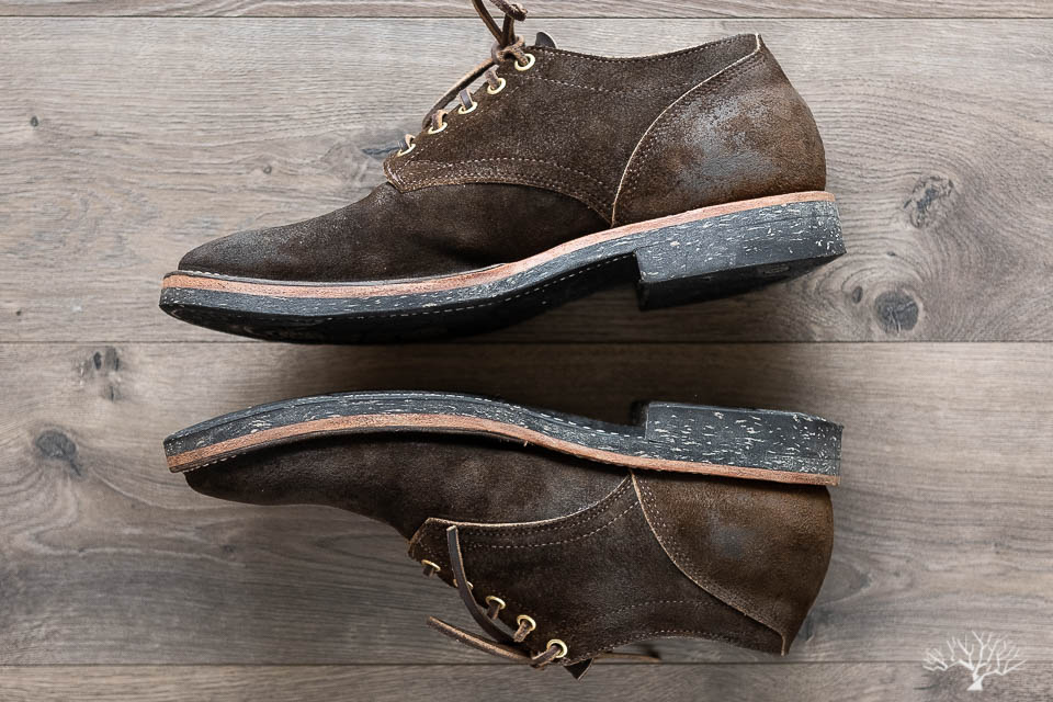 viberg for withered fig mushroom chamois roughout 145 oxford review