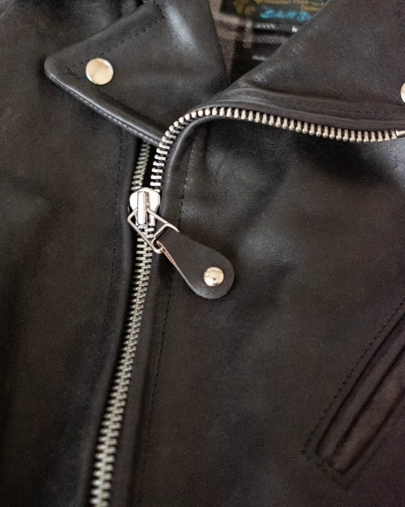 schott for 3sixteen stirrup zipper pulls