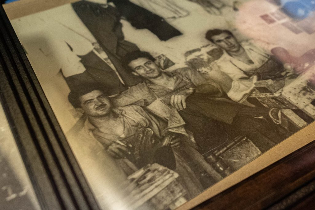 bedo's leatherwork photo of steve doudaklian's father