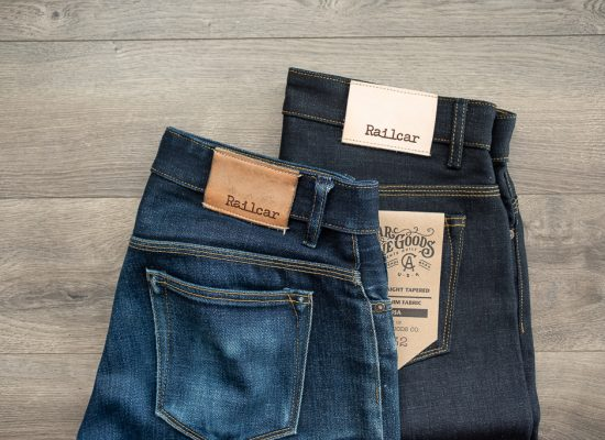 railcar fine goods x034 denim journeyman and spikes fade review