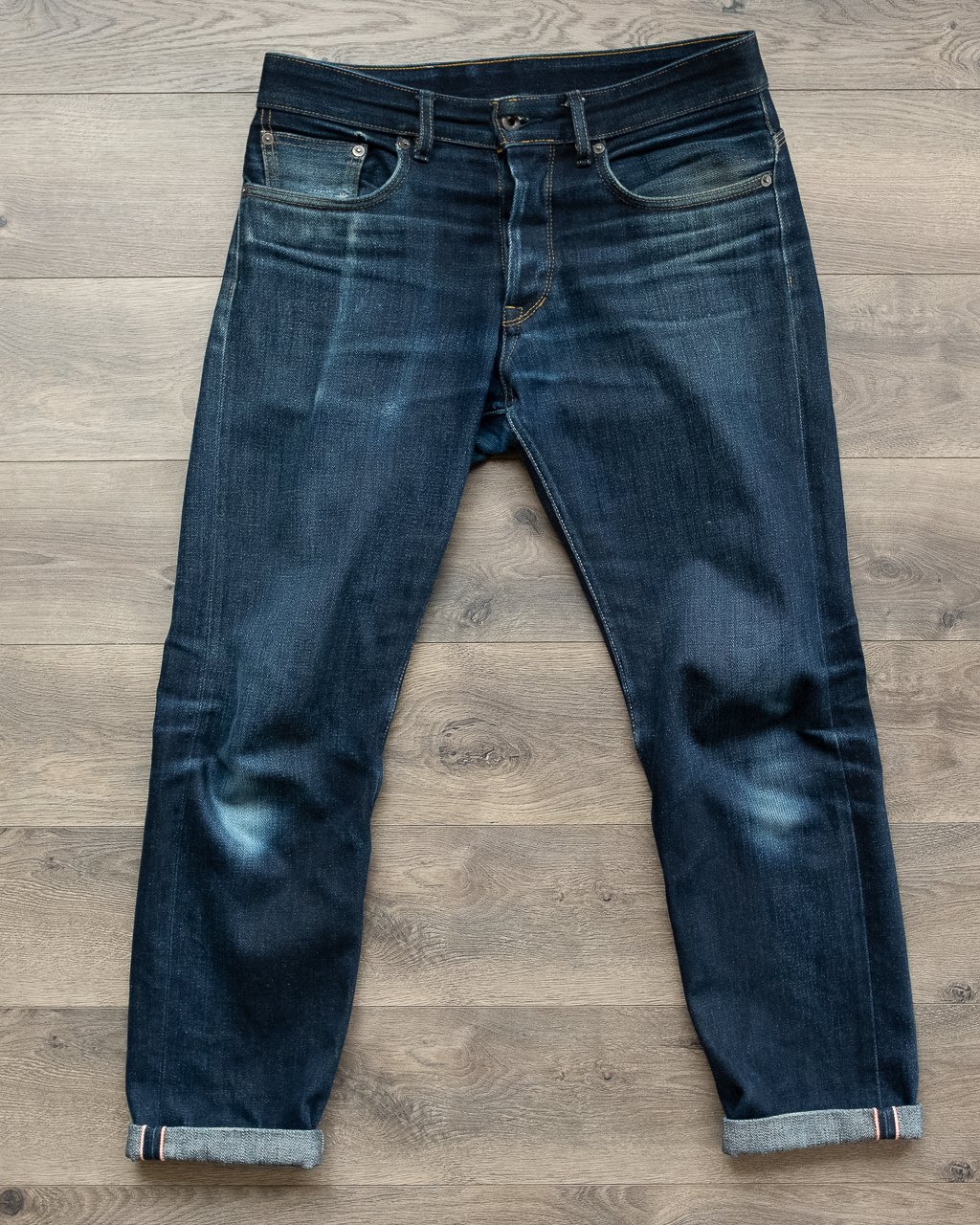railcar x034 denim full front faded