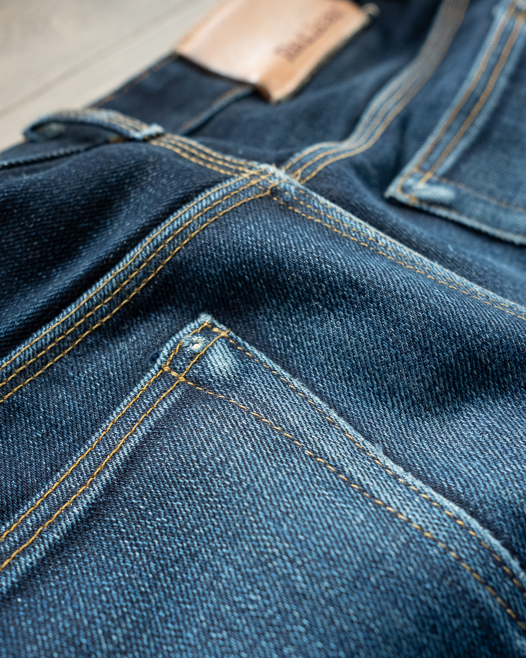 railcar denim x034 hidden rivet