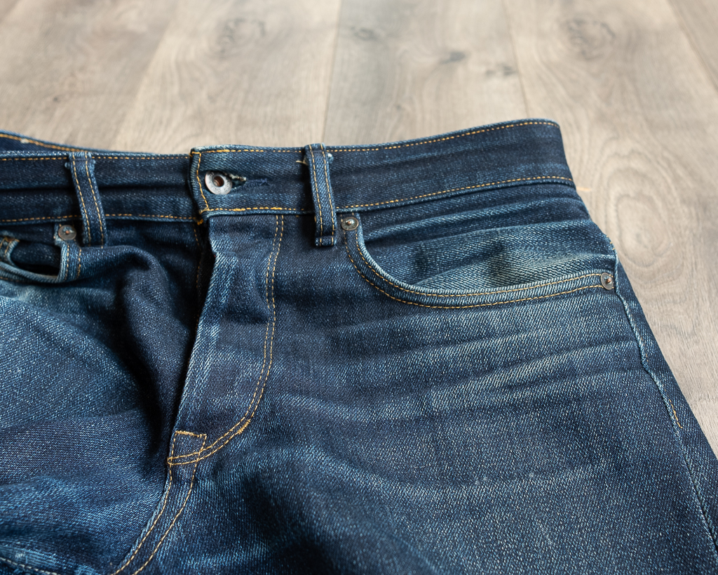 railcar fine goods x034 denim whiskering