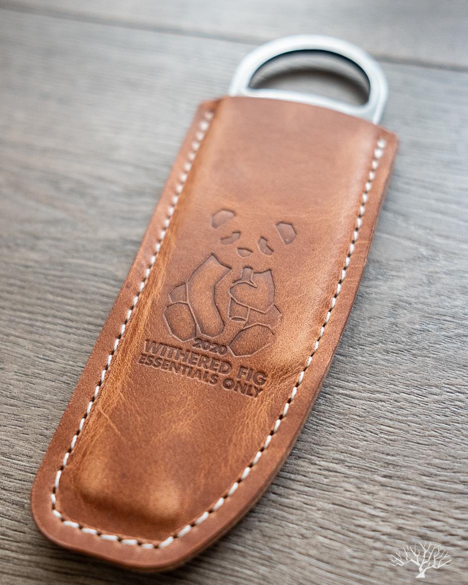 Horween Natural Dublin leather sheath