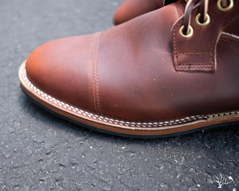 viberg for withered fig saddletan chromepak country boot