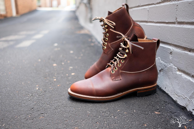 Viberg Saddletan Chromepak Country Boot