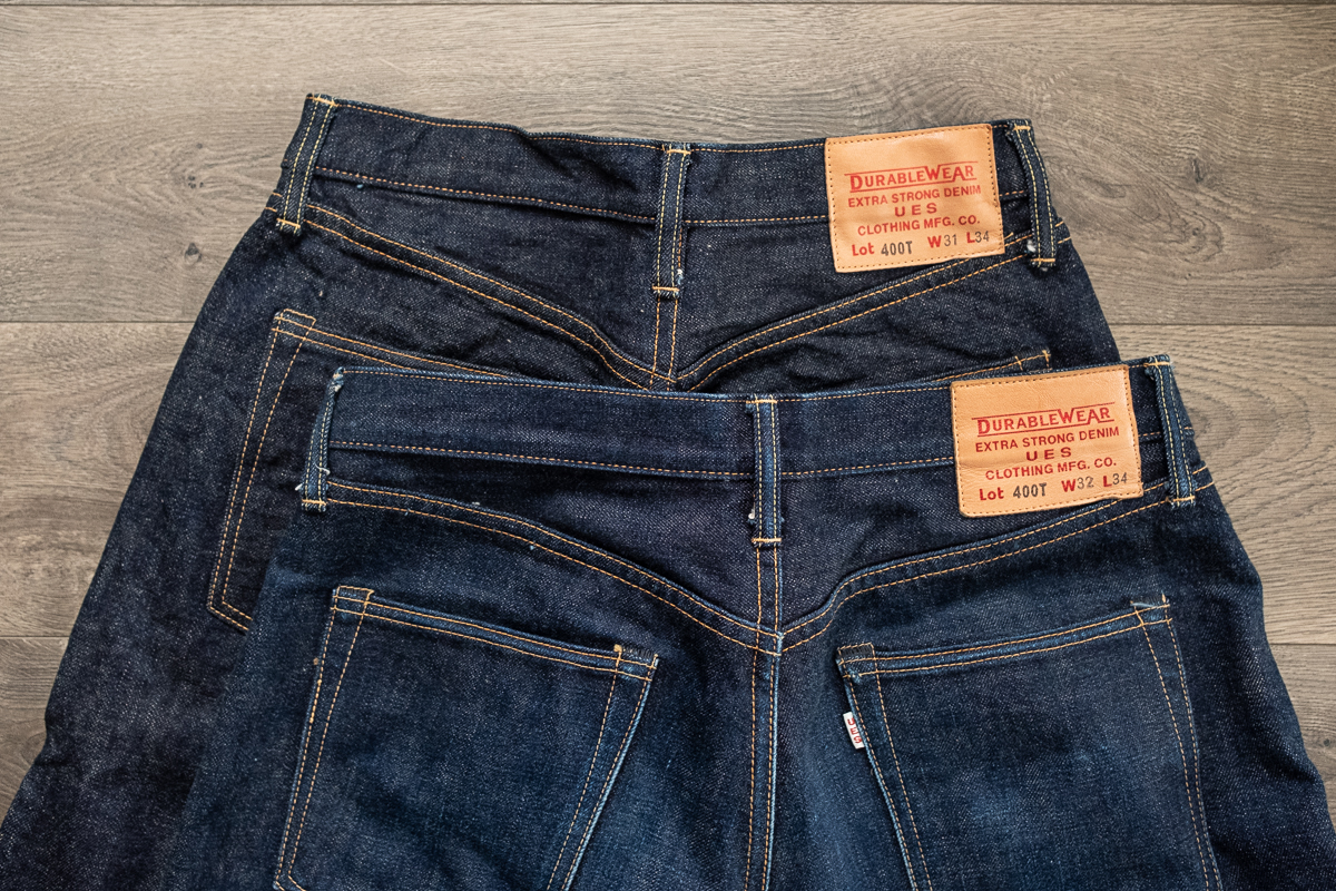 UES 400T Selvedge Denim Four Month Review
