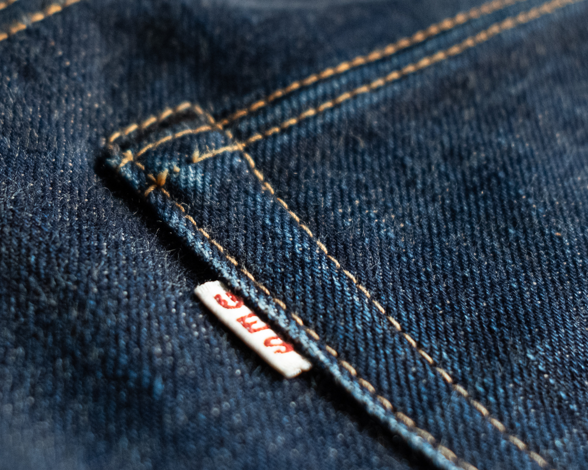 UES 400T Selvedge Denim Hidden Rivet
