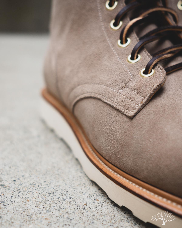 Viberg Service Boot - Mole Calf Suede - Vibram Christy sole - 1035 Last