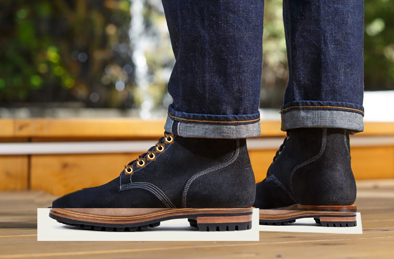 Withered Fig x Viberg Noontime Waterdown Boondocker, Gotten Em from Stitchdown Through Bots