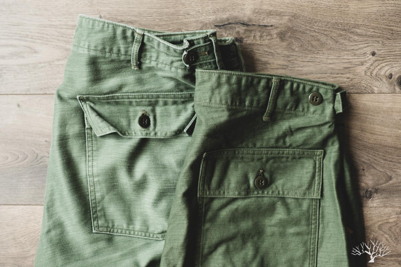 orslow original reverse sateen slim fit fatigue pants review